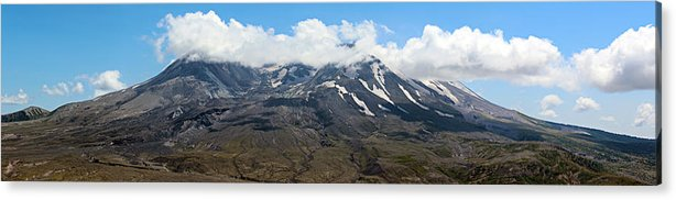 Blue Acrylic Print featuring the photograph Mount St Helens by Paul Fell