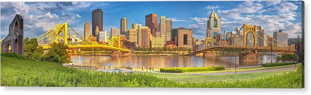 Pittsburgh Acrylic Print featuring the photograph Idyllic Afternoon by Jennifer Grover