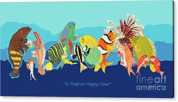 A Tropical Happy Hour by Constance Depler