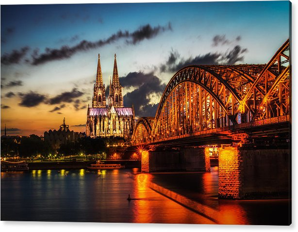 Cologne Cathedral Sunset by Aaron Choi