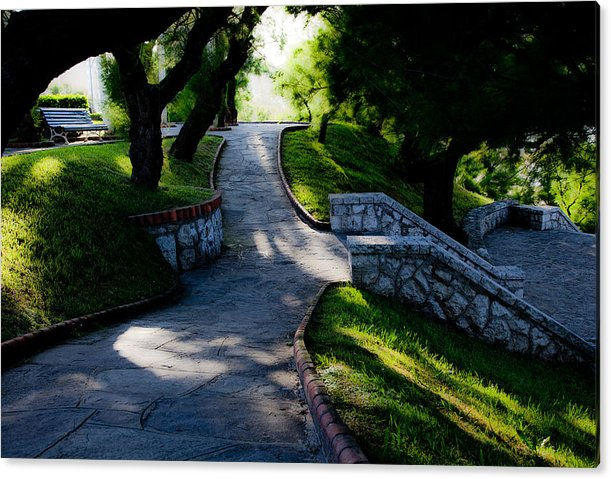 Park Acrylic Print featuring the photograph Park - Parque by Felix Mazo