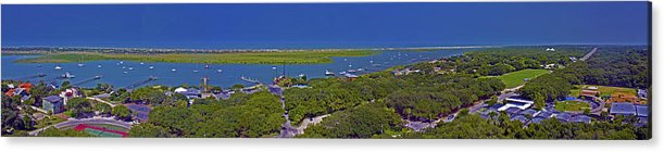 Panoramic Acrylic Print featuring the photograph St. Augustine Panoramic by Joseph Williams