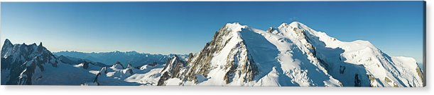 Scenics Acrylic Print featuring the photograph Glorious Mountain Vista Xxxl by Fotovoyager