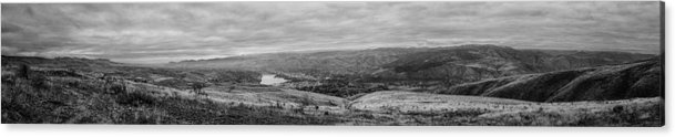Landscape Acrylic Print featuring the photograph Wenatchee Valley by Jeff Turpin