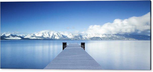 Lake Tahoe Panorama by Matthew Train