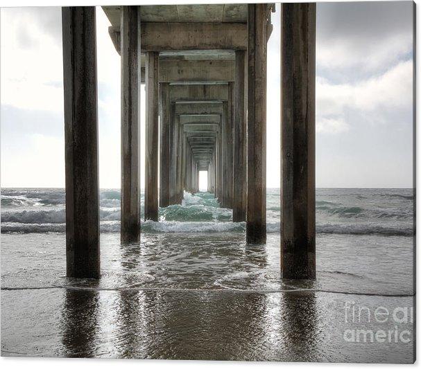 Scripps Pier by Eddie Yerkish