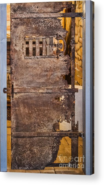 Rust Acrylic Print featuring the photograph Oxidation by Steven Parker