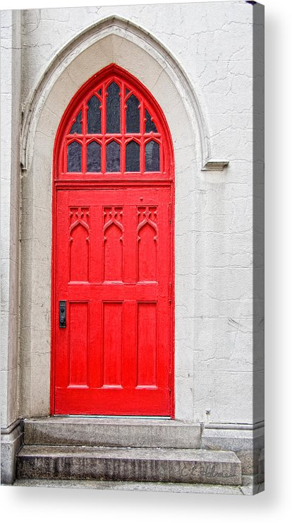 Door Acrylic Print featuring the photograph Red Door by Christopher Holmes