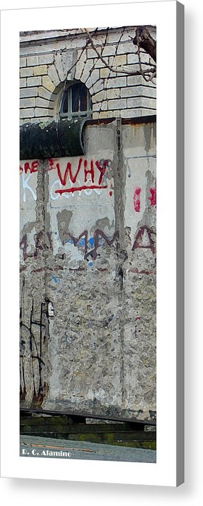 Berlin Acrylic Print featuring the photograph Citymarks Berlin by Roberto Alamino