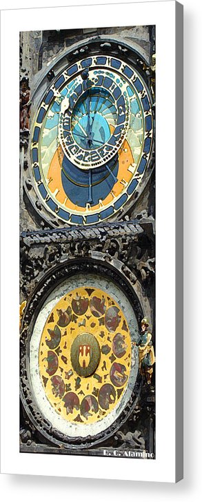 Prague Acrylic Print featuring the photograph Citymarks Prague by Roberto Alamino