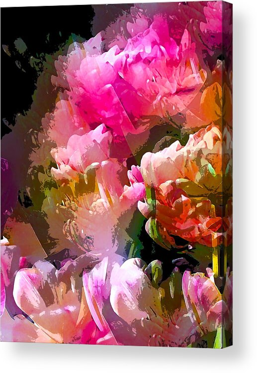 Abstract Acrylic Print featuring the photograph Abstract 272 by Pamela Cooper