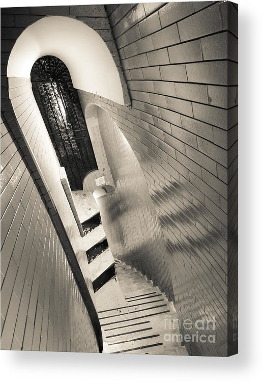 Saint Acrylic Print featuring the photograph Climbing The Cupola 'dome' by Inez Wijker