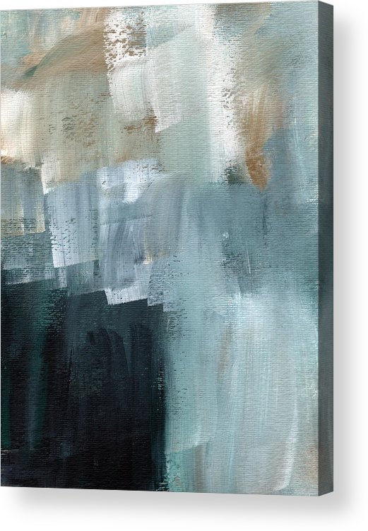 Abstract Art Acrylic Print featuring the painting Days Like This - Abstract Painting by Linda Woods