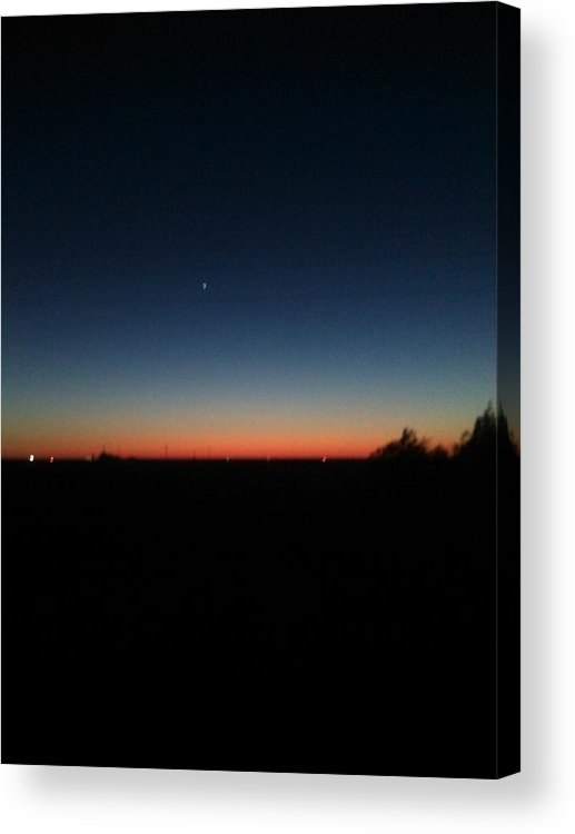 Weather Photos Acrylic Print featuring the photograph Dusk by William Hill