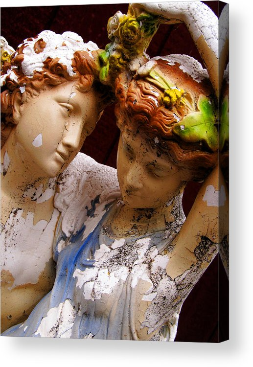 Love Acrylic Print featuring the photograph Eternal Lovers by Darryl Kravitz