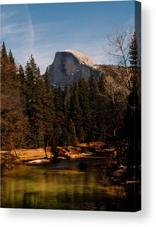 Yosemite Acrylic Print featuring the photograph Half Dome Spring by Bill Gallagher