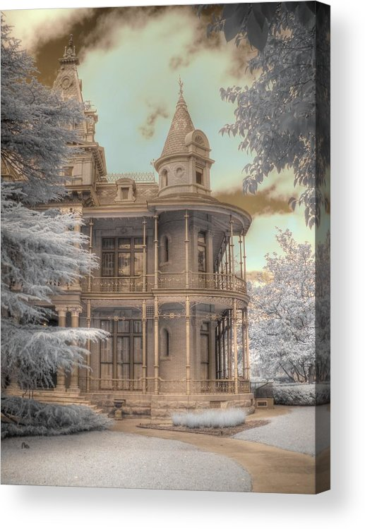 Littlefield Home Acrylic Print featuring the photograph Littlefield Mansion by Jane Linders