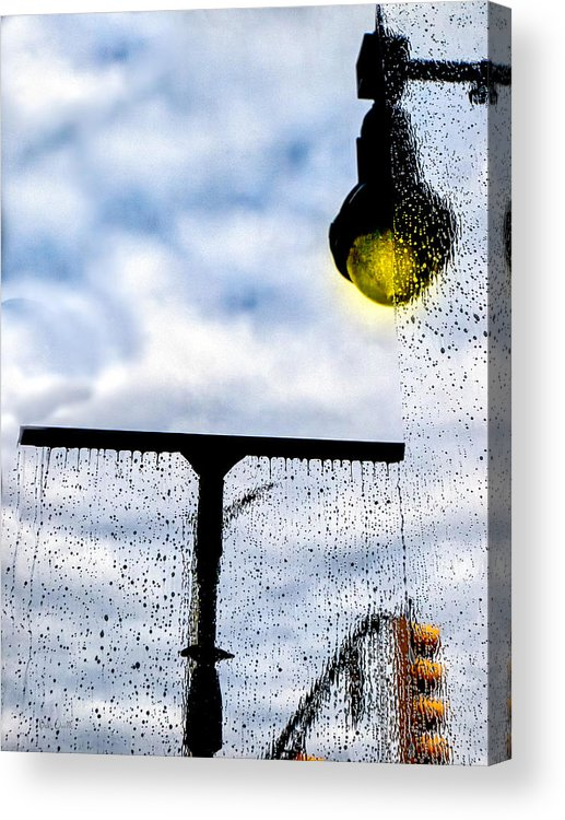 Window Acrylic Print featuring the photograph Molly's Window by Bob Orsillo