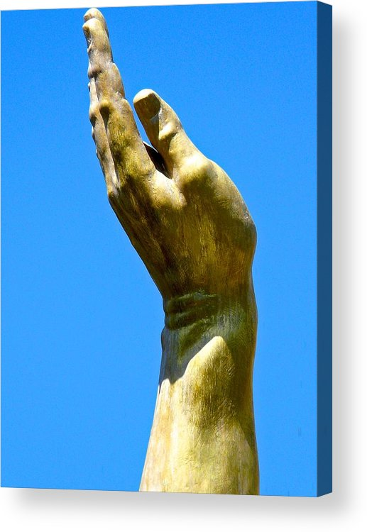 Statue Acrylic Print featuring the photograph Hale And Sturdy by Jacqueline Howe