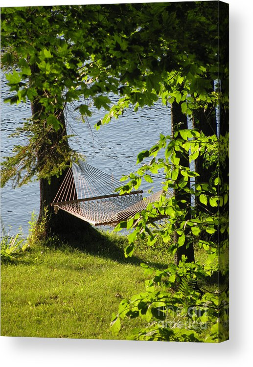 Summer Acrylic Print featuring the photograph Relaxation by Nancie Johnson