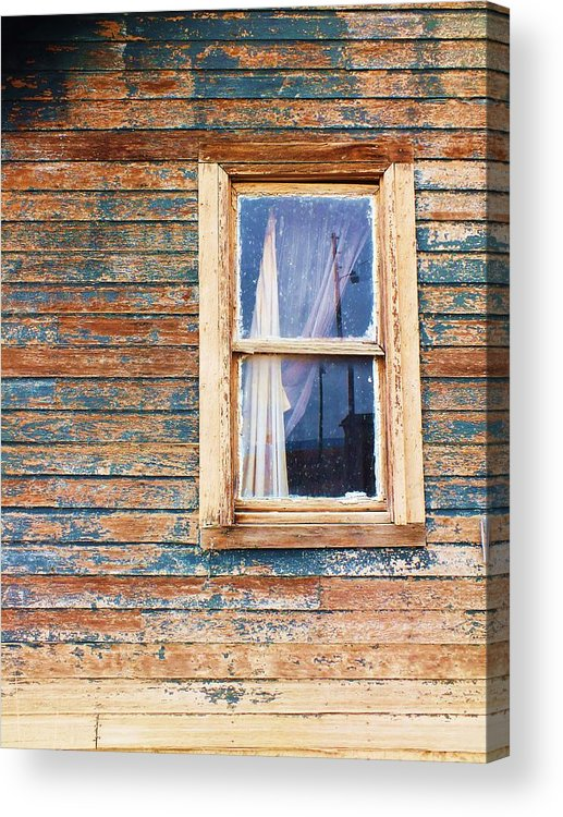 Tattered Acrylic Print featuring the photograph Tattered by Anna Villarreal Garbis