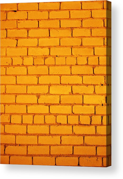 Wall Acrylic Print featuring the photograph The Wall by Ramunas Bruzas