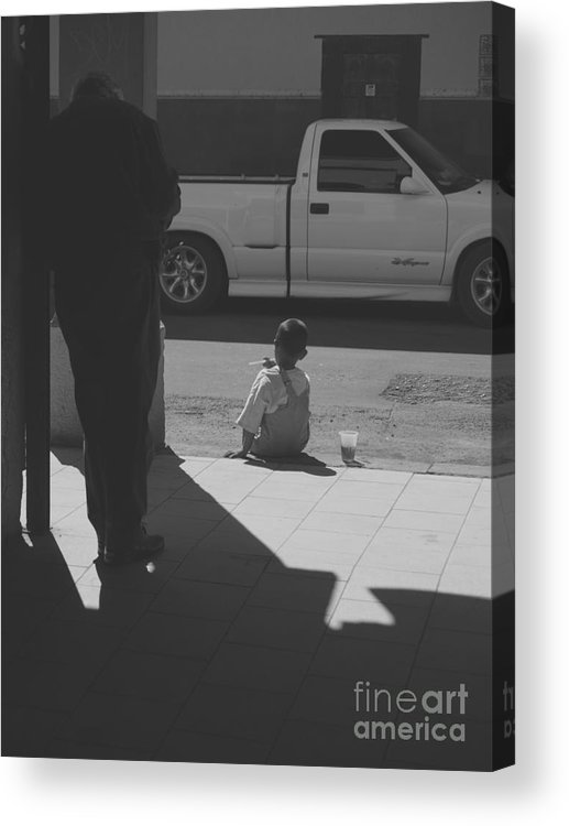 Two Feet Acrylic Print featuring the photograph Two Feet by Craig Pearson
