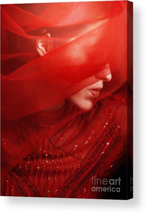 Veil Acrylic Print featuring the photograph Veiled II by Malgorzata Maj