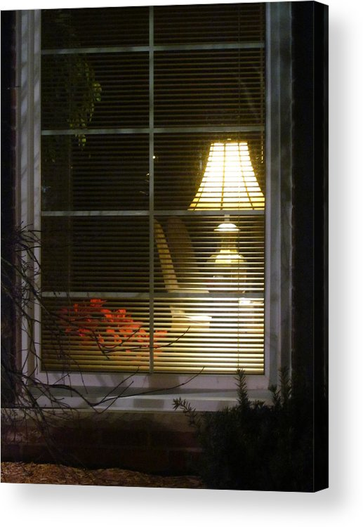 Guy Ricketts Photography Acrylic Print featuring the photograph Waiting At The Window by Guy Ricketts