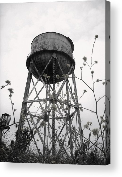 Watertower Acrylic Print featuring the photograph Water Tower by Michael Grubb