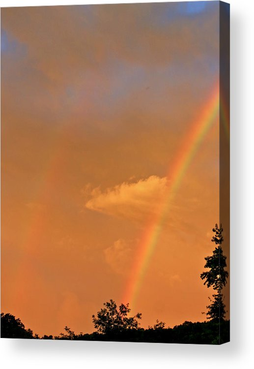 Cloud Acrylic Print featuring the photograph Wandering Cloud by Azthet Photography