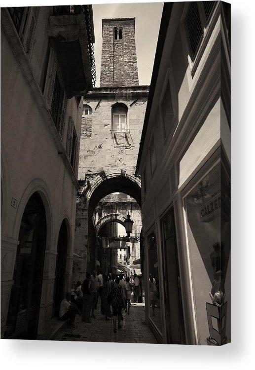 2012 Acrylic Print featuring the photograph Split Old Town by Jouko Lehto