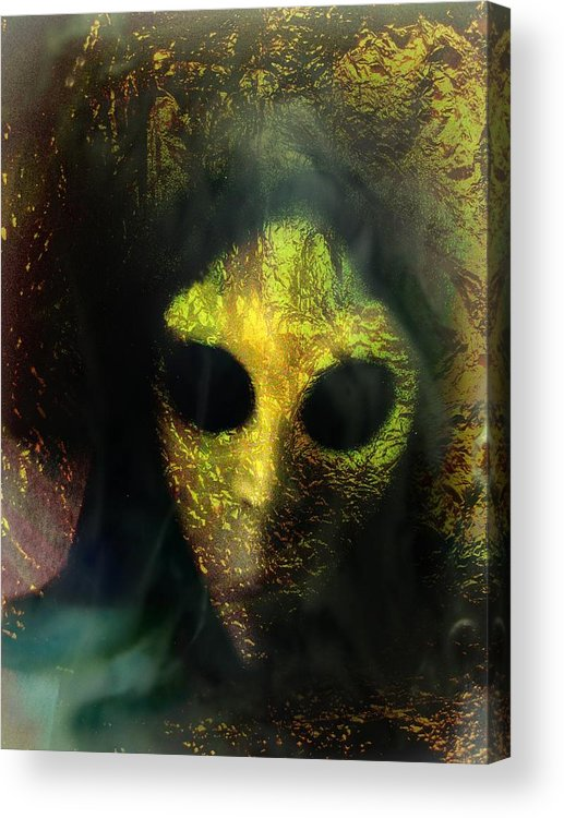 Face Acrylic Print featuring the photograph Visitor by Shirley Sirois