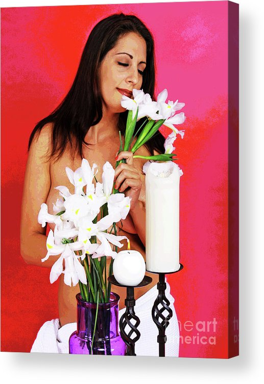 Spa Acrylic Print featuring the photograph Beautiful Spa Scents by Larry Oskin
