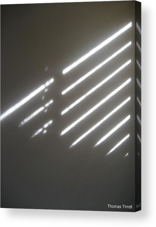 Acrylic Print featuring the photograph Blind To What Is Seen by Thomas Tirrell
