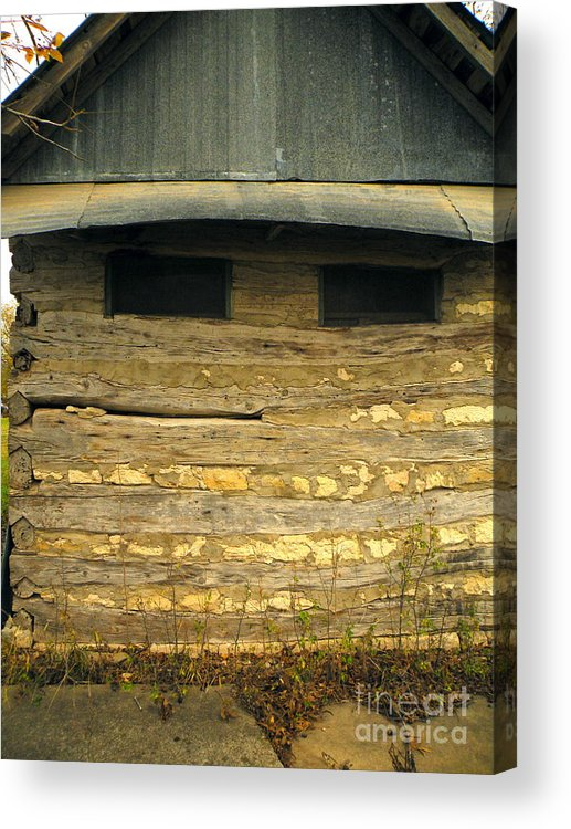 Humor Acrylic Print featuring the photograph Crack A Smile Bed And Breakfast by Joe Jake Pratt