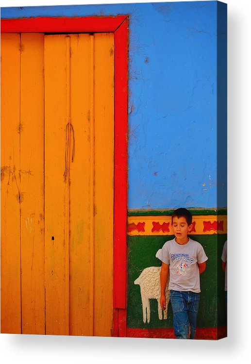 Dreams Of Kids Acrylic Print featuring the photograph Dreams Of Kids by Skip Hunt