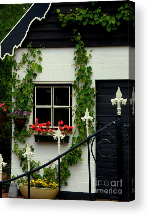 Black And White Acrylic Print featuring the photograph Dutch Delight by Lainie Wrightson