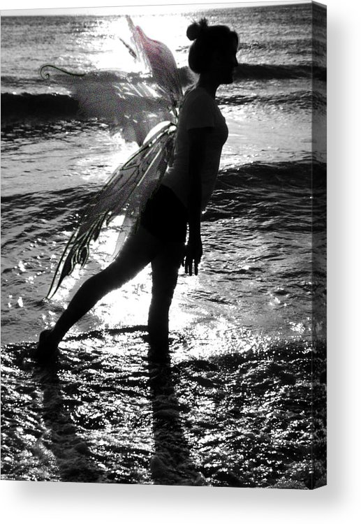 Fantasy Acrylic Print featuring the photograph Fairy Water Dance by Anthony King