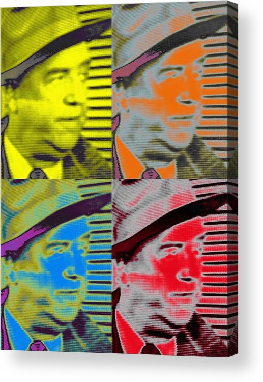 Artsy Acrylic Print featuring the photograph Fred Mertz In Semi-profile by Guy Ricketts