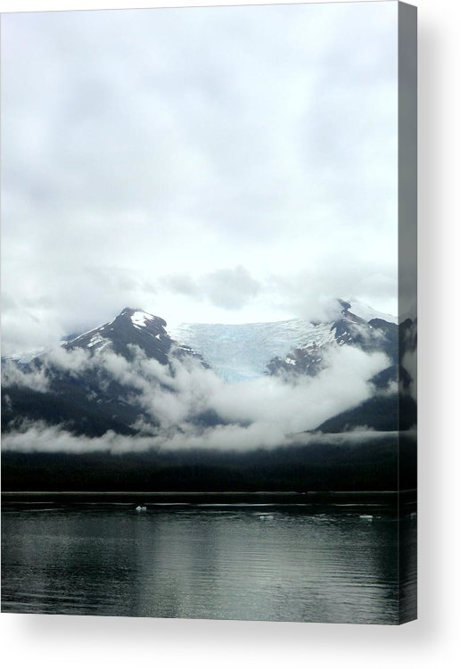Mountains Acrylic Print featuring the photograph Glacier Mountain by Mindy Newman