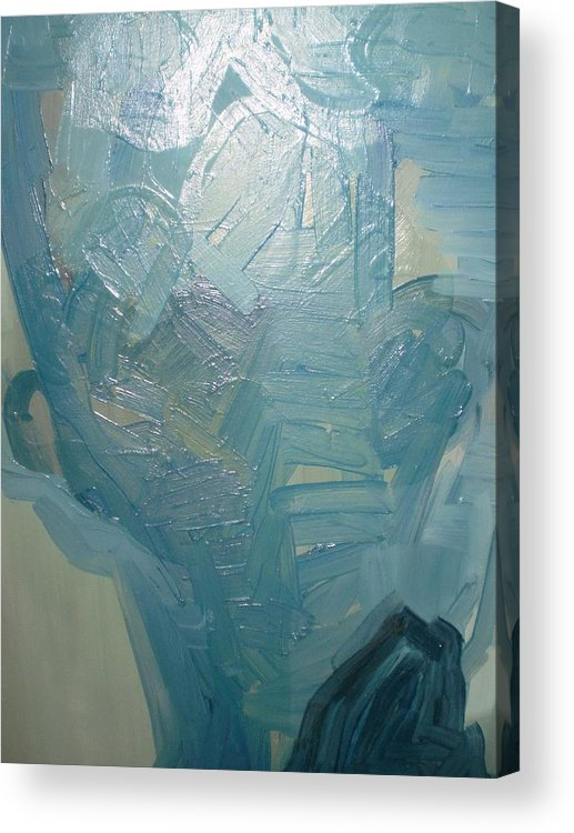 Acrylic Print featuring the painting Head2 by Dusan Marelj