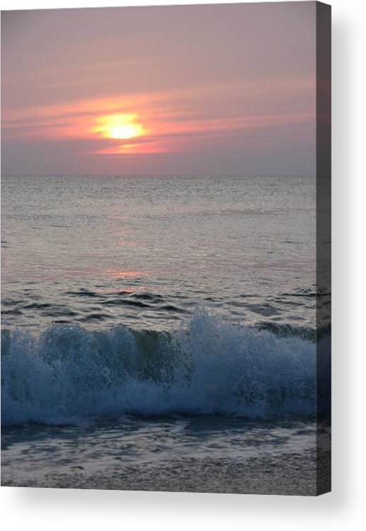 Beach Acrylic Print featuring the photograph New Day by April Camenisch