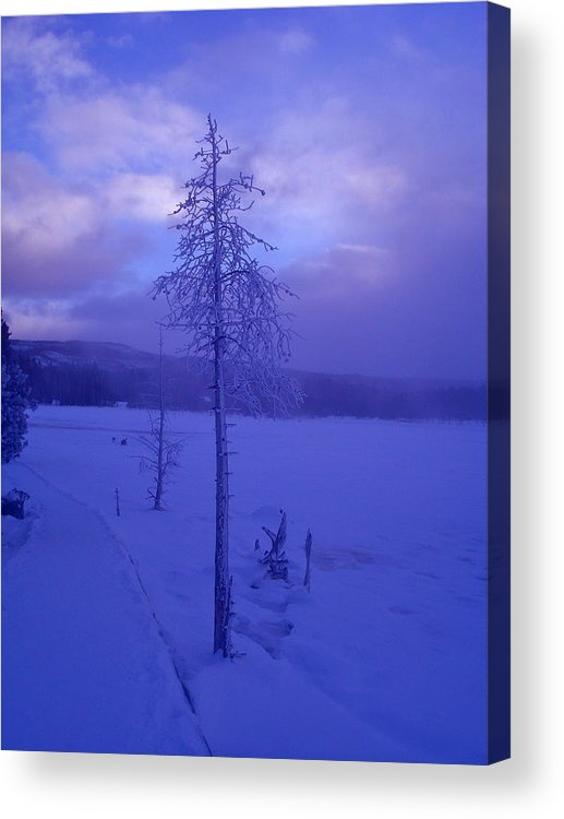 Solitude Acrylic Print featuring the photograph Solitude by Linda Bisbee