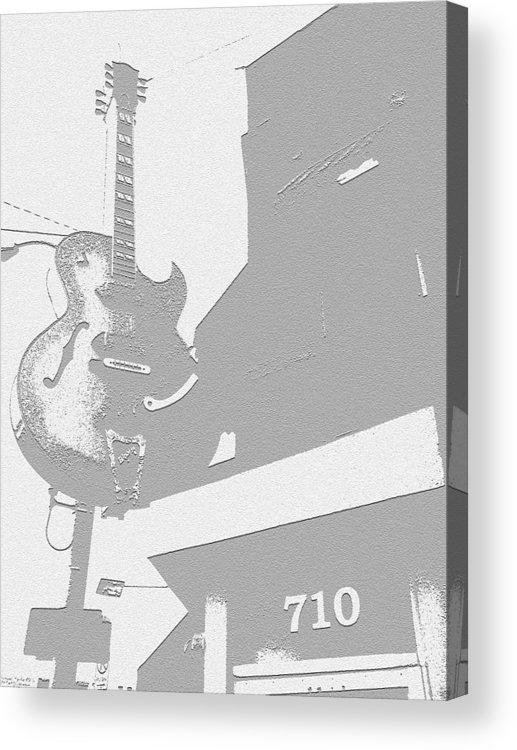706 Union Avenue Memphis Acrylic Print featuring the photograph Sun Studios by Jame Hayes