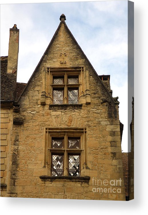 Windows Acrylic Print featuring the photograph Windows Of Sarlat by Lainie Wrightson