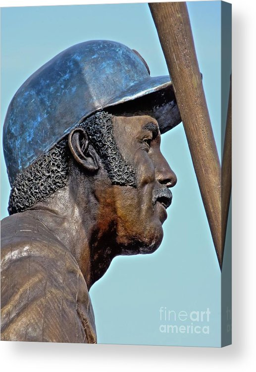 Billy Williams Acrylic Print featuring the photograph Billy Williams by David Bearden