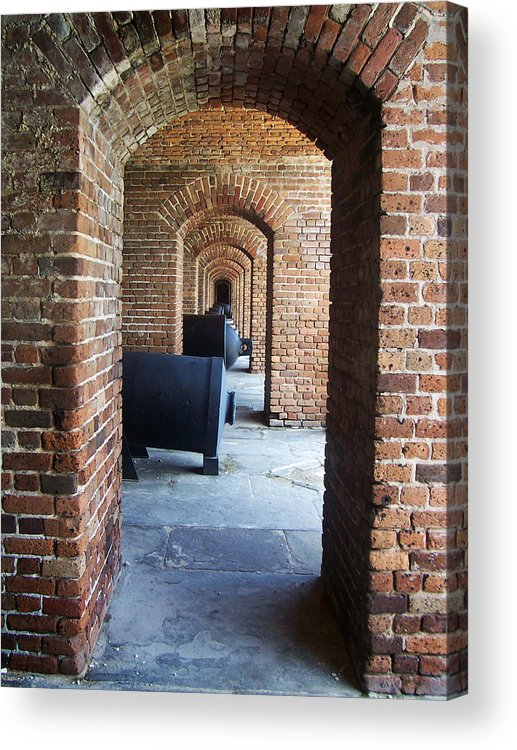Photography Acrylic Print featuring the photograph Fort by Karen Kanaby