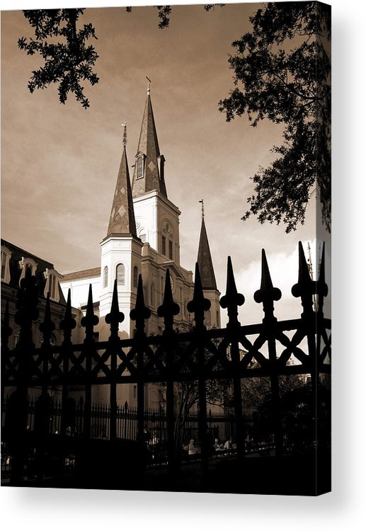New Orleans Acrylic Print featuring the photograph St Louis Cathedral by Shawn McElroy