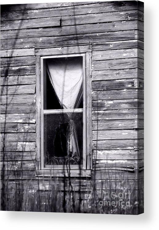 Windows Acrylic Print featuring the photograph Window by Amanda Barcon